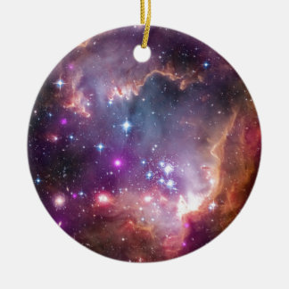 """Under the """"Wing"""" of the Small Magellanic Cloud Ceramic Ornament"""