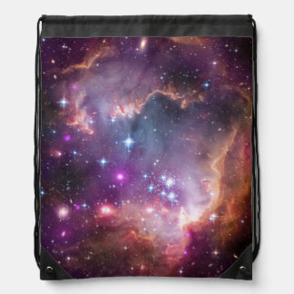 """Under the """"Wing"""" of the Small Magellanic Cloud Drawstring Bag"""