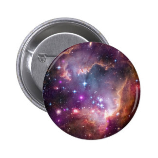 "Under the ""Wing"" of the Small Magellanic Cloud Pinback Button"