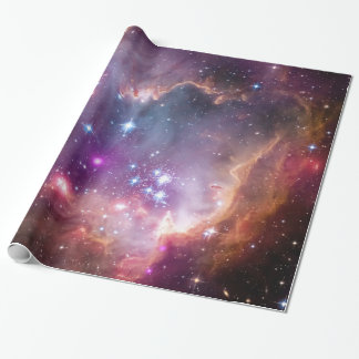 """Under the """"Wing"""" of the Small Magellanic Cloud Wrapping Paper"""