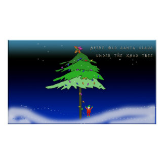 Under the Xmas Tree Poster