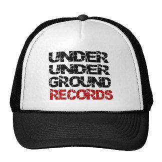 UNDER UNDER GROUND RECORDS TRUCKER HAT