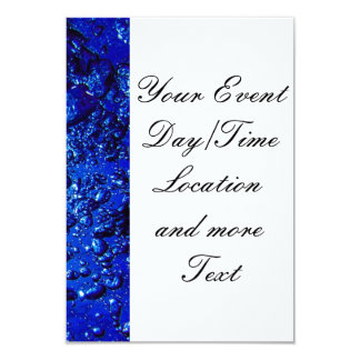 under water 4 3.5x5 paper invitation card