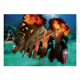 Under Water Card