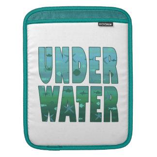 Under water iPad sleeves