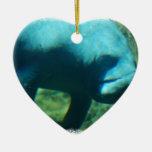 Under Water Manatee  Ornament