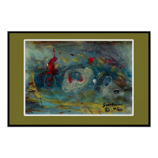 UNDER WATER PAIN #2   Item#145/pos Posters