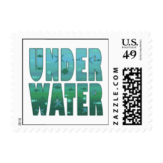 Under Water Postage Stamps