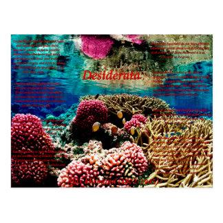 Under Water Postcard