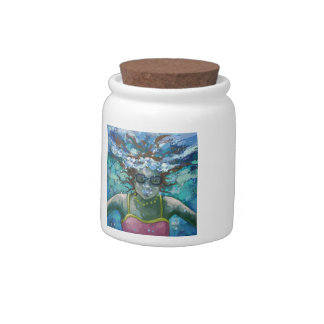 Under Water Swim Candy Jar
