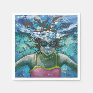 Under Water Swim Napkin
