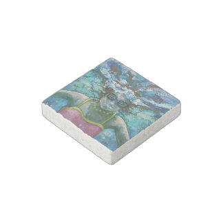 Under Water Swim Stone Magnet