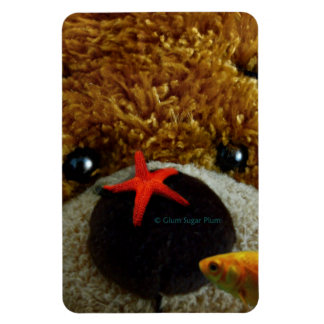 Under Water Teddy Premium Flexi Magnet