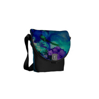 Under Water World Abstract Courier Bag