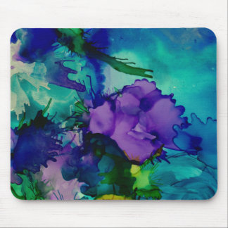 Under Water World Abstract Mousepad
