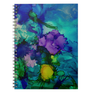 Under Water World Abstract Notebook
