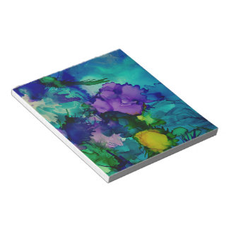 Under Water World Abstract Notepads