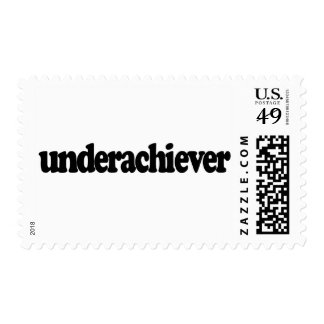 Underachiever Postage Stamps