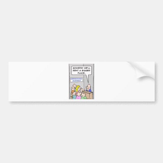 underachievers anonymous bumper sticker