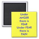UnderANGERThere es el isPAIN del fearUnderFEARTher Iman Para Frigorífico