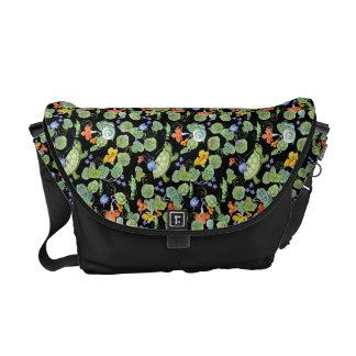 Underbrush Art Messenger Bag