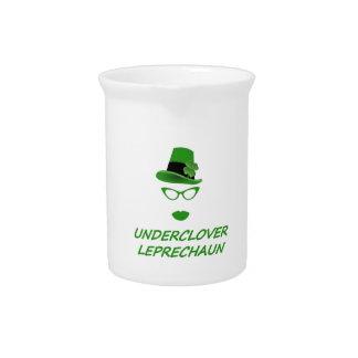 Underclover Leprechaun 01 Beverage Pitcher