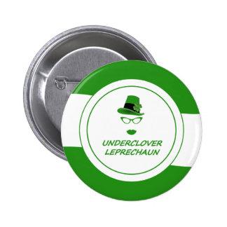 Underclover Leprechaun 01GRW Pinback Button