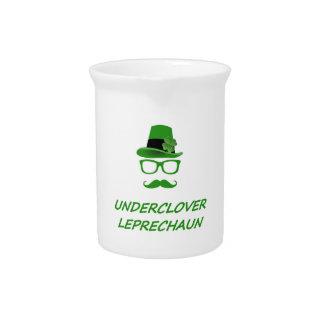 Underclover Leprechaun 02 Beverage Pitcher