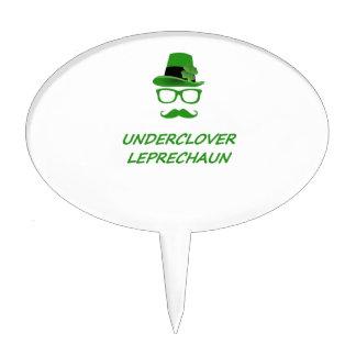 Underclover Leprechaun 02 Cake Topper