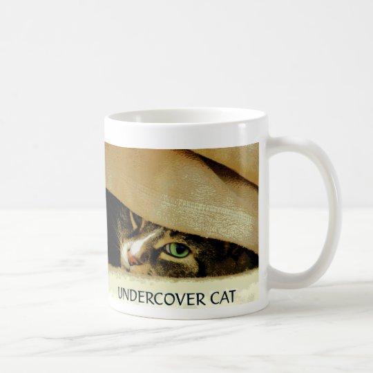Undercover Cat mug