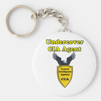 Undercover CIA Agent Key Chain