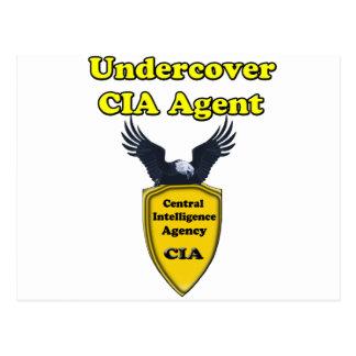 Undercover CIA Agent Postcard