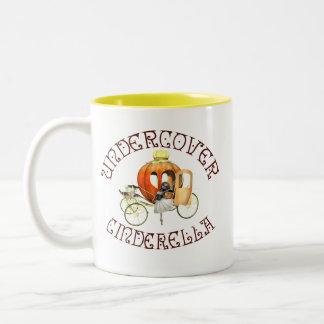 Undercover Cinderella Two-Tone Coffee Mug
