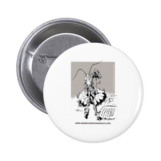 Undercover Cockroach Pinback Buttons