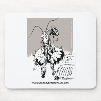 Undercover Cockroach Mouse Pad