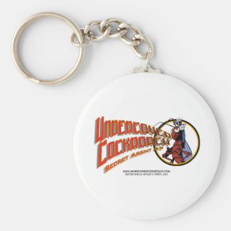 Undercover Cockroach Title Key Chains
