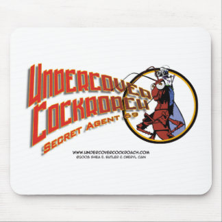 Undercover Cockroach Title Mouse Pad