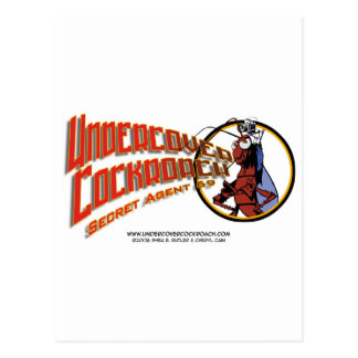 Undercover Cockroach Title Post Cards