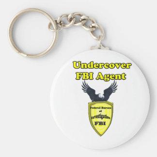 Undercover FBI Keychain