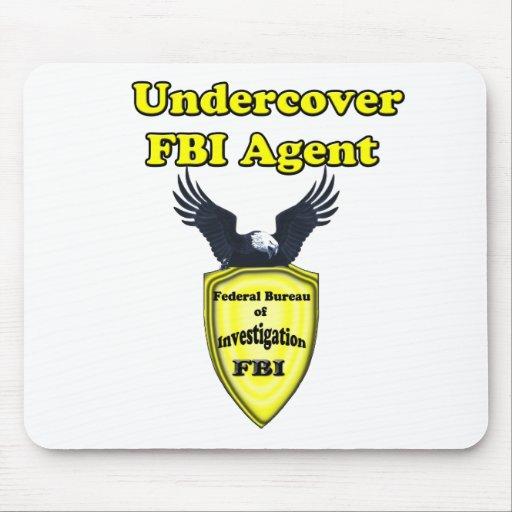 Undercover FBI Mousepads