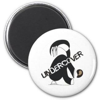 UNDERCOVER 2 INCH ROUND MAGNET