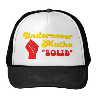 Undercover Mutha Solid Trucker Hats