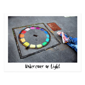 Undercover of Light - Paris Postcard
