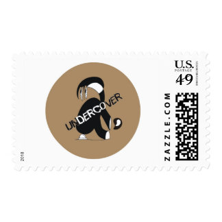 UNDERCOVER POSTAGE STAMP