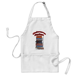 Undercover Student Adult Apron