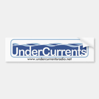 UnderCurrents Sticker Car Bumper Sticker
