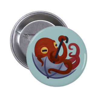 Underella: Rojo Pin Redondo De 2 Pulgadas