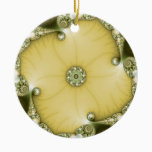 Underflower Fractal Ceramic Ornament
