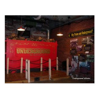 Underground Atlanta Post Card