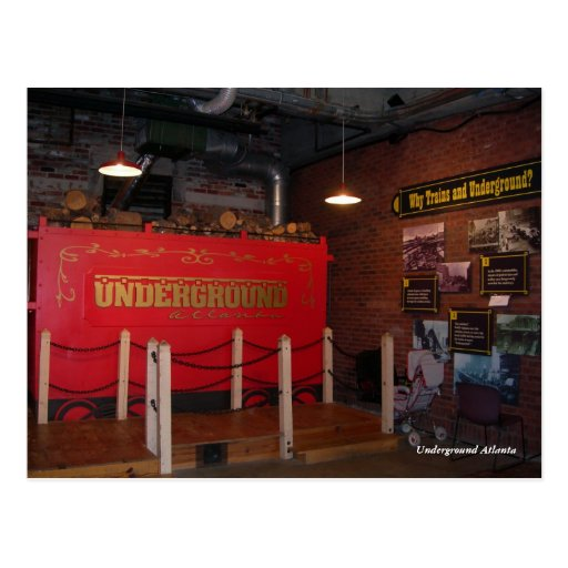 Underground Atlanta Post Card